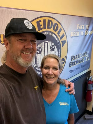 Pete and Lynn Anderson of Pareidolia Brewing Co.