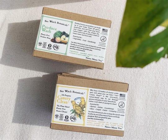 Sea Witch Botanicals' Produce Wash
