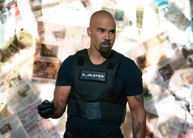 """Shemar Moore as Daniel """"Hondo"""" Harrelson in an episode of CBS's """"S.W.A.T."""" The network this week announced a partnership with the NAACP and goals for increasing the number of BIPOC creating and working on their TV shows."""