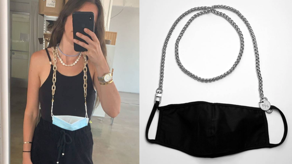 Face mask chains and lanyards are practical and stylish.