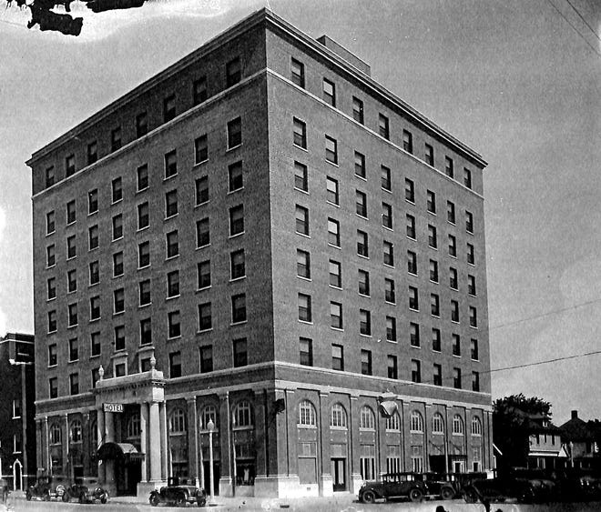 In early December of 1930, a group of active citizens met at the Aldridge Hotel to map out their strategy for the upcoming plebiscite for moving the county seat from Tecumseh to Shawnee.