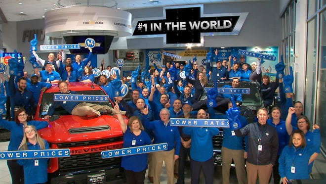 McCluskey Chevrolet employees drive growth at this No. 1 new car dealership in Cincinnati