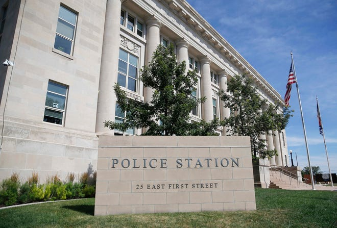 The Des Moines Police Department in Des Moines.
