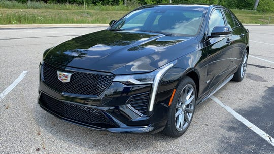 2020 Cadillac CT4-V sport sedan OK, but about to get better