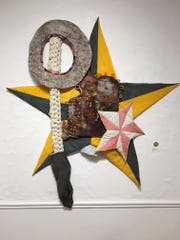 """Feather Chiaverini's """"Tree Topper"""" took second place in """"Uncommon Threads."""""""