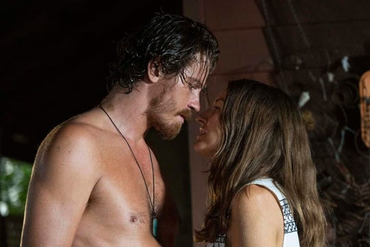 "Garrett Hedlund and Kelly Macdonald in ""Dirt Music."""
