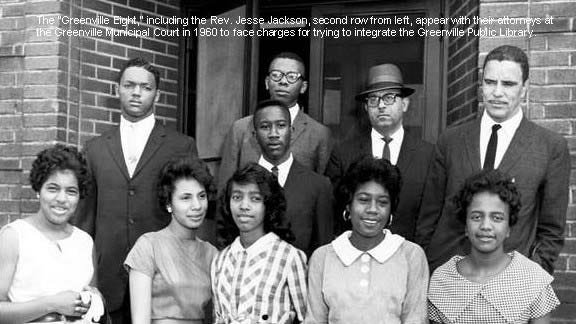 Library desegregation led by Greenville 8 helped reshape city