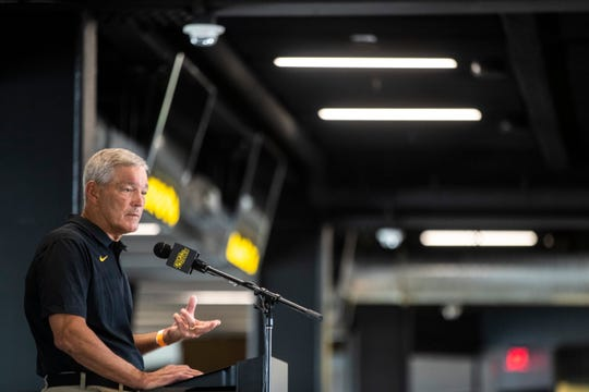 Iowa football coach Kirk Ferentz told reporters Thursday that he had read the detailed nine-page report that came out in April 2019 and revealed allegations that Black athletes felt they were treated unfairly in contrast to their white peers.