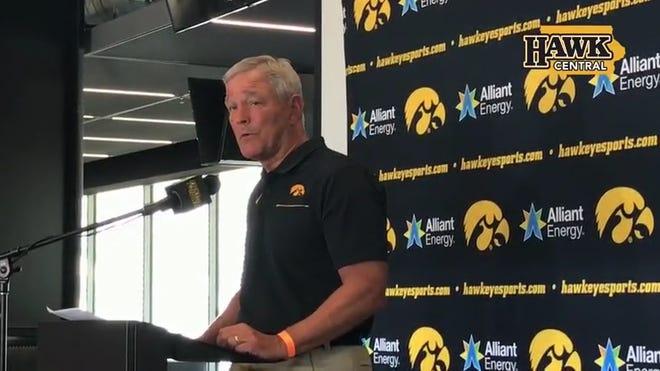 Iowa Football 2020 Big Ten Schedule Set Hawkeyes Open Vs Maryland