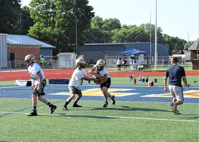 The Lancaster football team held their camp days this week as they prepare for the upcoming season with the first official day of practice set for Aug. 1.