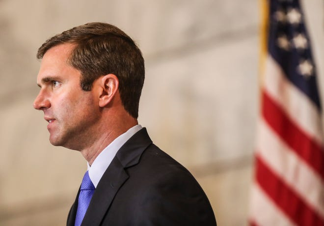 """Trump's executive order providing $400 a week in unemployment benefits is """"not workable in its current form,"""" Beshear said."""