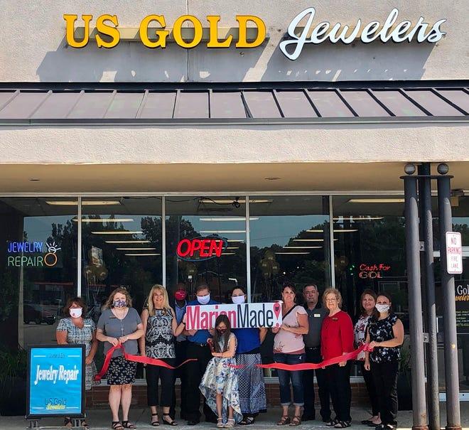 Ribbon cutting at US Gold Jewelers