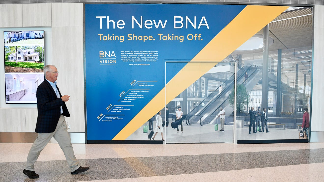 Nashville airport assesses heavy 2020 losses