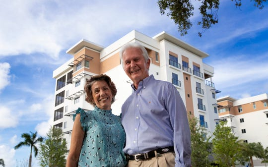 Dr. John Little and his wife, Veora, are new residents of Moorings Park Grande Lake, Naples newest luxury Life Plan Community.