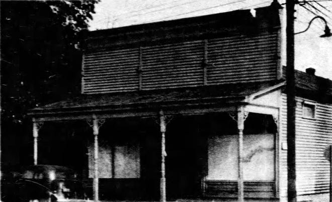 Ventre Dry Goods Store that stood on the northeast corner of Court and Grolee streets (opposite corner from the original store) in Opelousas from 1906 until 1961 when it was demolished, and the Opelousas City Hall built on the property.