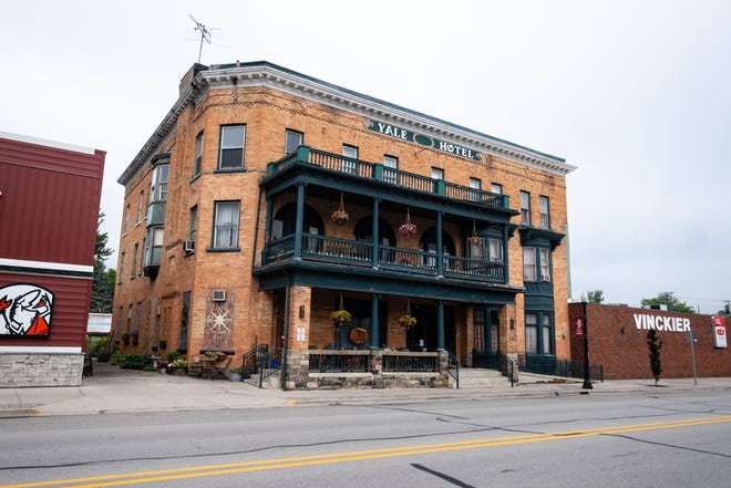Shelley O'Brien, who runs the Yale Hotel, has decided to permanently close its bar and restaurant and will have a community-wide sale July 24-26 to help clear the space.