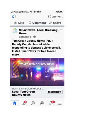 The Tom Green County Sheriff's Office has debunked a headline making the rounds on social media Thursday, July 16, 2020.