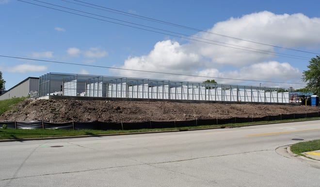 Transpo Mini Storage is building additional capacity as seen near 35th and Superior, Thursday, July 16, 2020, in Sheboygan, Wis.