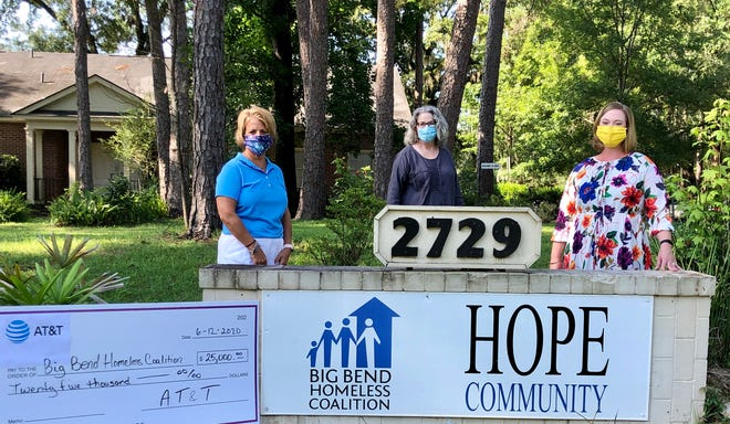 AT&T recently made a donation of $25,000 to the HOPE Community to help families during the coronavirus pandemic.