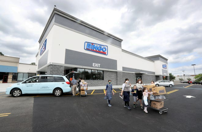 Bingo Wholesale, photographed July 16, 2020, has opened in the Spring Valley Market Place.