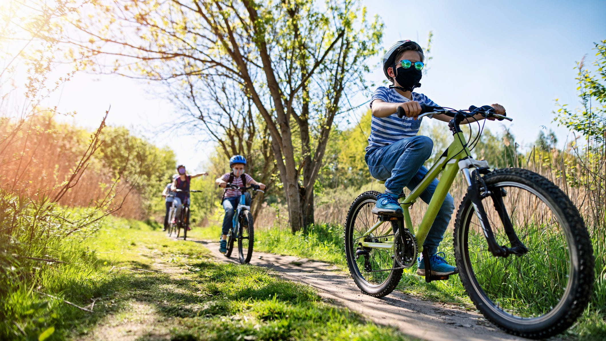 Coronavirus pandemic gives bike trails, rides new momentum