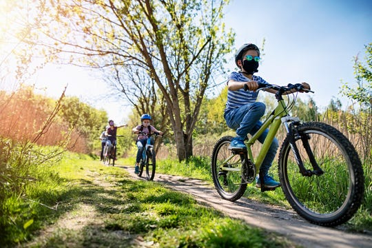 A bike trip gets you and your family some fresh air while managing to maintain social distancing with others you might encounter.