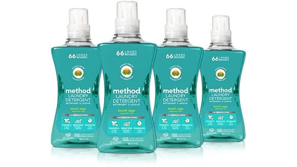 Save on this four-pack of eco-friendly laundry detergent.