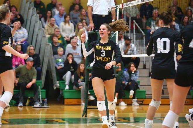 Mason graduate Anna Brinkmann will be a junior for the NKU volleyball team in the 2020 season.
