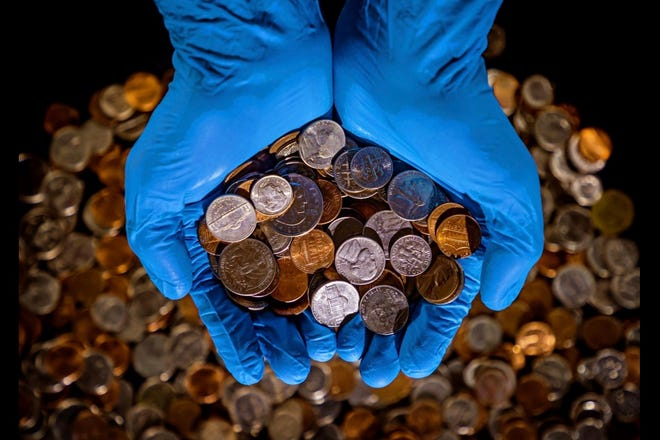 There's a national shortage of coins during the coronavirus pandemic.