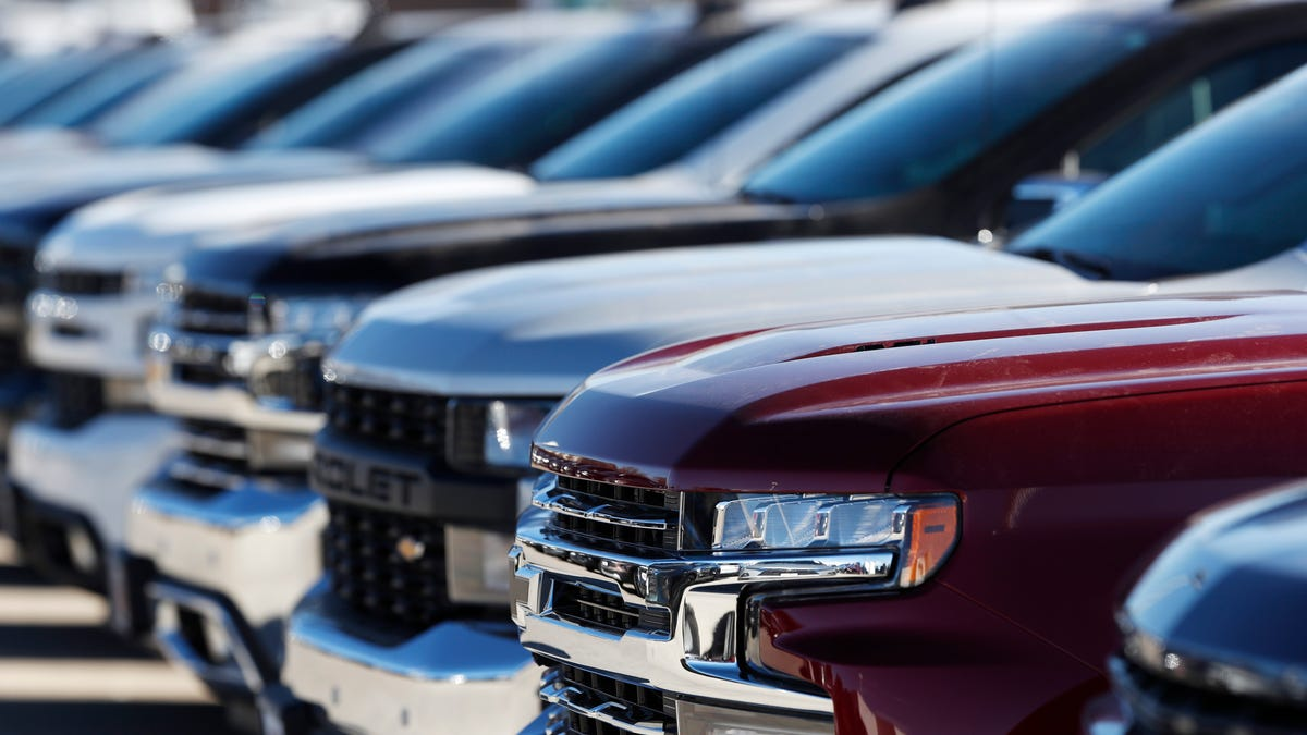 GM truck production hit again by chip shortage