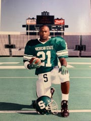 Hickey Thompson played at Michigan State in the 1990s.