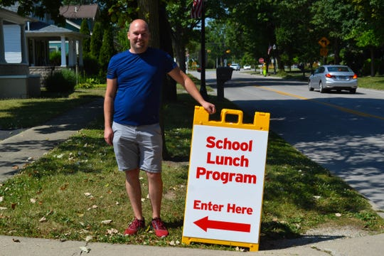 Spenser Benefield serves as the volunteer coordinator for Elmore Church of God's free breakfast and lunch program. The church will feed over 40 children each week this summer.