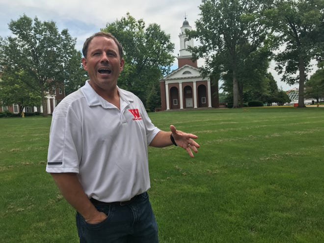 Scott Feller talks about his vision for Wabash College after being named president of the all-male liberal arts college in Crawfordsville.