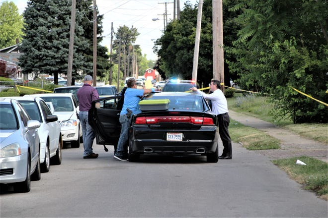 """Officials from the Marion Police Department and Marion County Prosecutor's Office are investigating a double shooting that occurred just before 5 a.m. on Friday, July 17, 2020, at a residence on Avondale Avenue. A juvenile male was """"seriously wounded"""" and an adult female was also wounded, according to Maj. Jay McDonald. The investigation is active and ongoing, McDonald noted."""