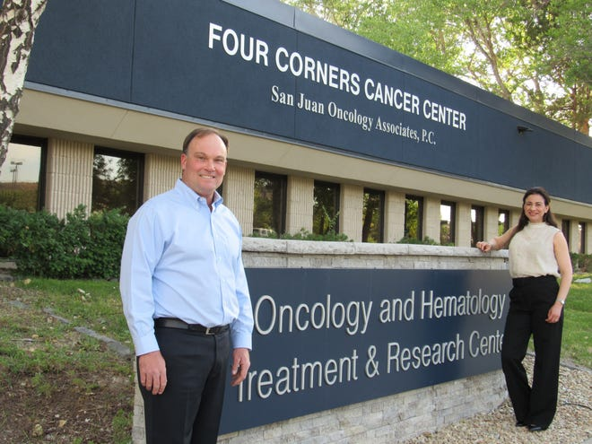 Dr. Jeff Neidhart and his wife, Griselda Neidhart bought a building on East 30th Street and turned it into the Four Corners Cancer Center/San Juan Oncology Associates, P.C.