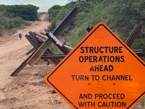 U.S. Customs and Border Protection released more details about construction efforts to build a border wall at the Coronado National Memorial.