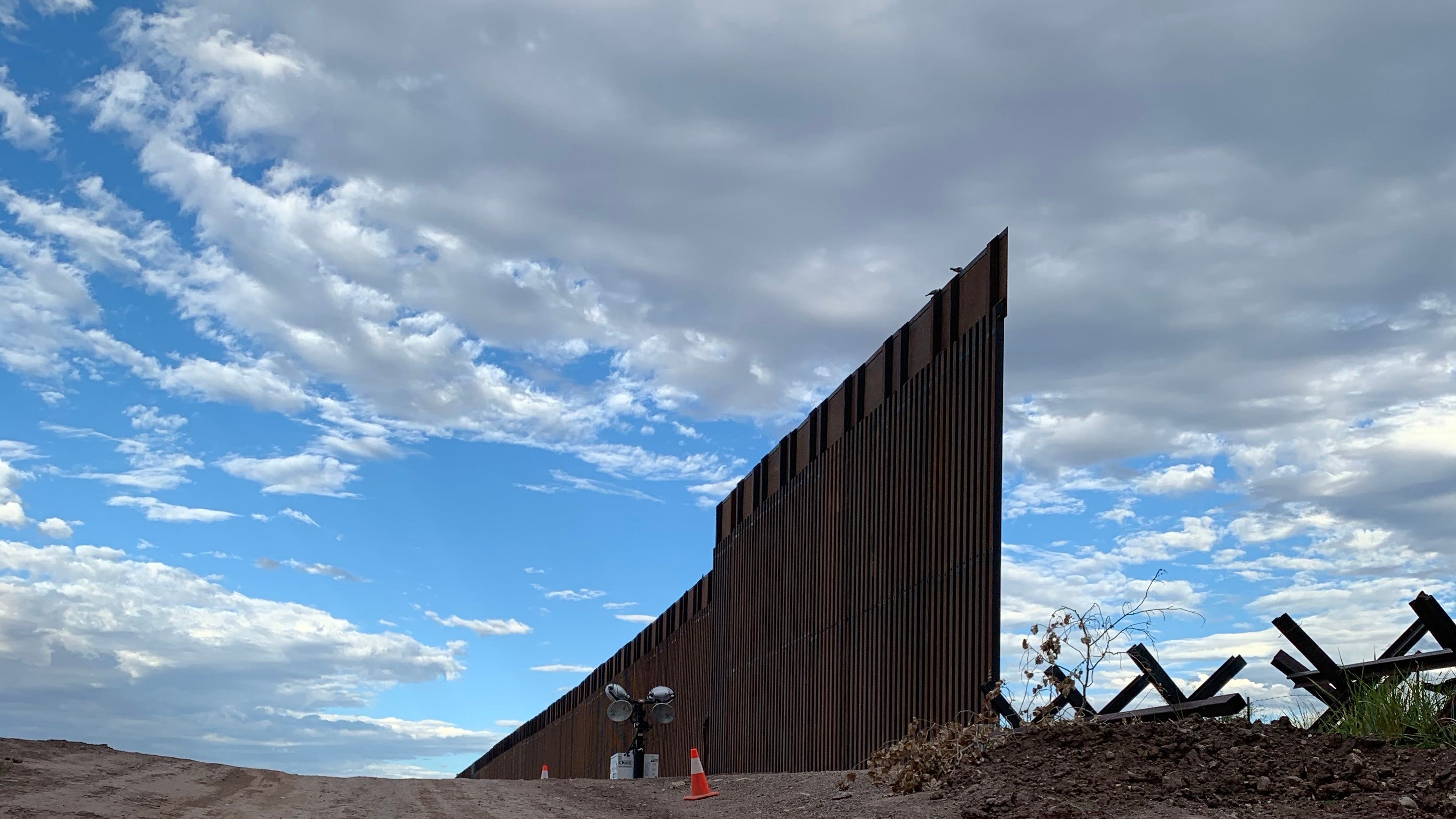 Trump administration prioritized border wall construction over other options in flawed process, government audit says