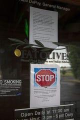El propietario John Conley ha cerrado Salsa Brava y Fat Olives por el momento debido a la pandemia. Los dos restaurantes cerraron el 24 de junio de 2002.