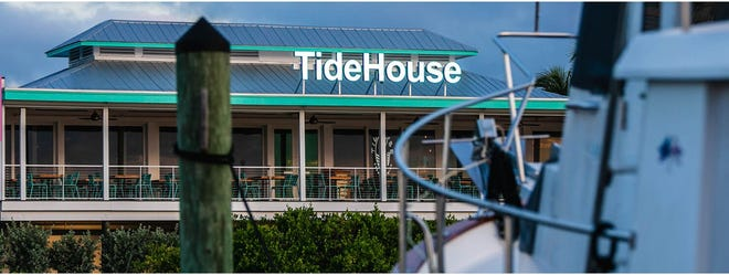 TideHouse Waterfront Restaurant offers three free parking slips for boats.