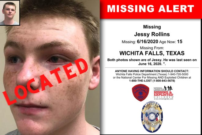 Jessy Rollins had been missing for month but was found this week in Colorado.