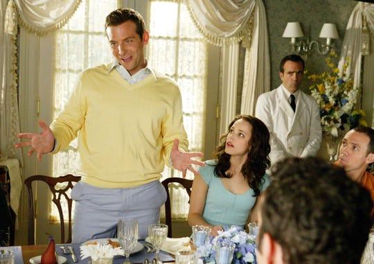 "Bradley Cooper and Rachel McAdams in ""Wedding Crashers."""