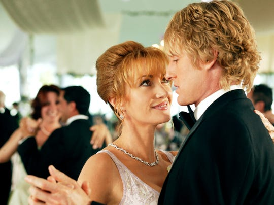 """Jane Seymour's Kathleen Cleary had eyes for John Beckwith (Owen Wilson) in """"Wedding Crashers."""" Seymour calls dancing with Wilson, """"absolutely wonderful."""""""