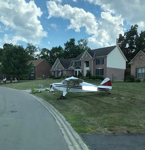Miami Township Fire and EMS responded to an emergency landing of a single engine aircraft Saturday afternoon.