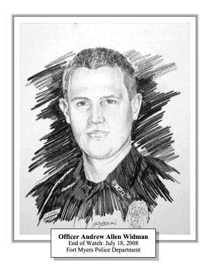 Fort Myers Police Officer Andrew Widman