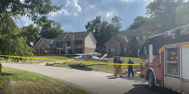 Phillip Sullivan, 21, was piloting a 1956 Piper Pacer airplane from Wadsworth, Ohio to Lunken Airport.