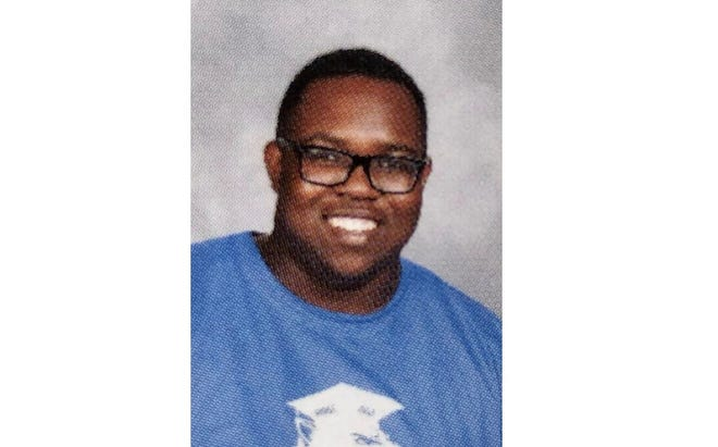 Jordan Byrd's yearbook photo from 2018. Byrd, 19, who graduated from Godby High School and attended Tallahassee Community College, died from COVID-19.