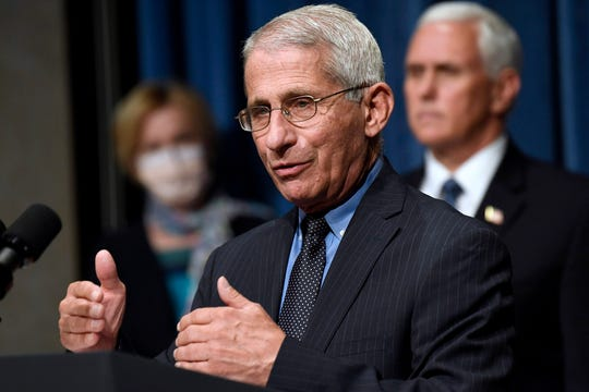 Dr. Anthony Fauci in Washington, DC, on June 26, 2020.