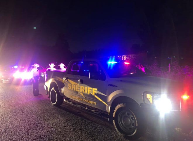 Deputies from the Johnston County Sheriff's Office were on scene in Mill Creek working a family dispute involving a stabbing on Friday night.