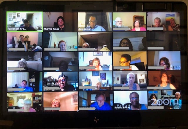 The ToolShed meetings happen via Zoom every Monday night in July.