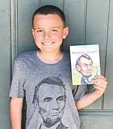 Grayson Ballard, Haviland, had fun researching one of his favorite topics as part of a national history contest, which which was named a 2020 winner.